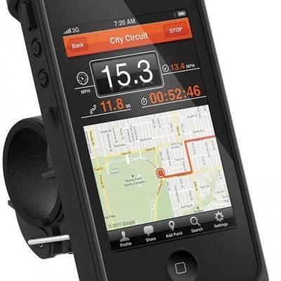 Lifeproof | Suporte de bicicleta e barra para Iphone 4/4S  Case