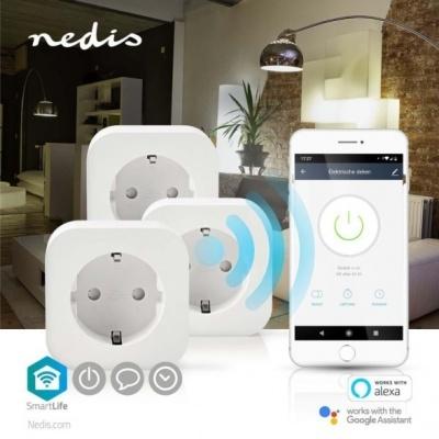 Nedis | Tomada Wi-fi 2200W 3x