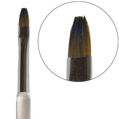Professional Gel Brush From Real Hair