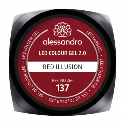 LED Colour Gel 2.0 137 - Red Illusion 5g