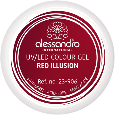 Colour Gel 906 - Red Ilusion 5g