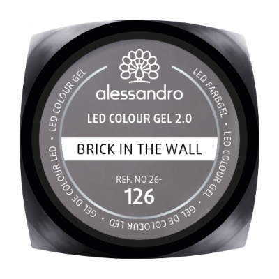 LED Colour Gel 2.0 126 - Brick In The Wall 5g