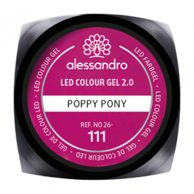 LED Colour Gel 2.0 111 - Poppy Pony 5g