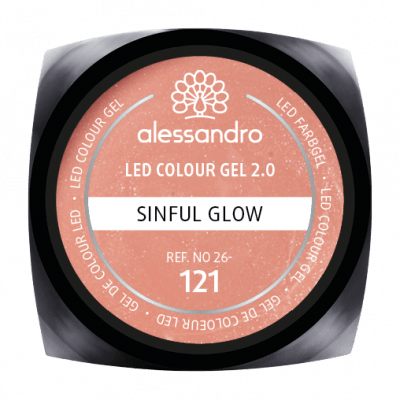 LED Colour Gel 2.0 121 - Sinful Glow 5g