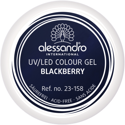 Colour Gel 158 - Blackberry 5g