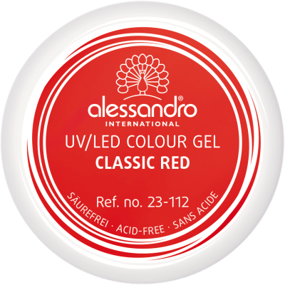 Colour Gel 112 - Classic Red 5g