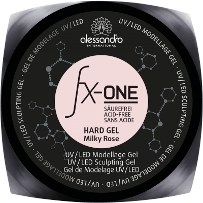 Fx-One Hard Gel Milky Rose