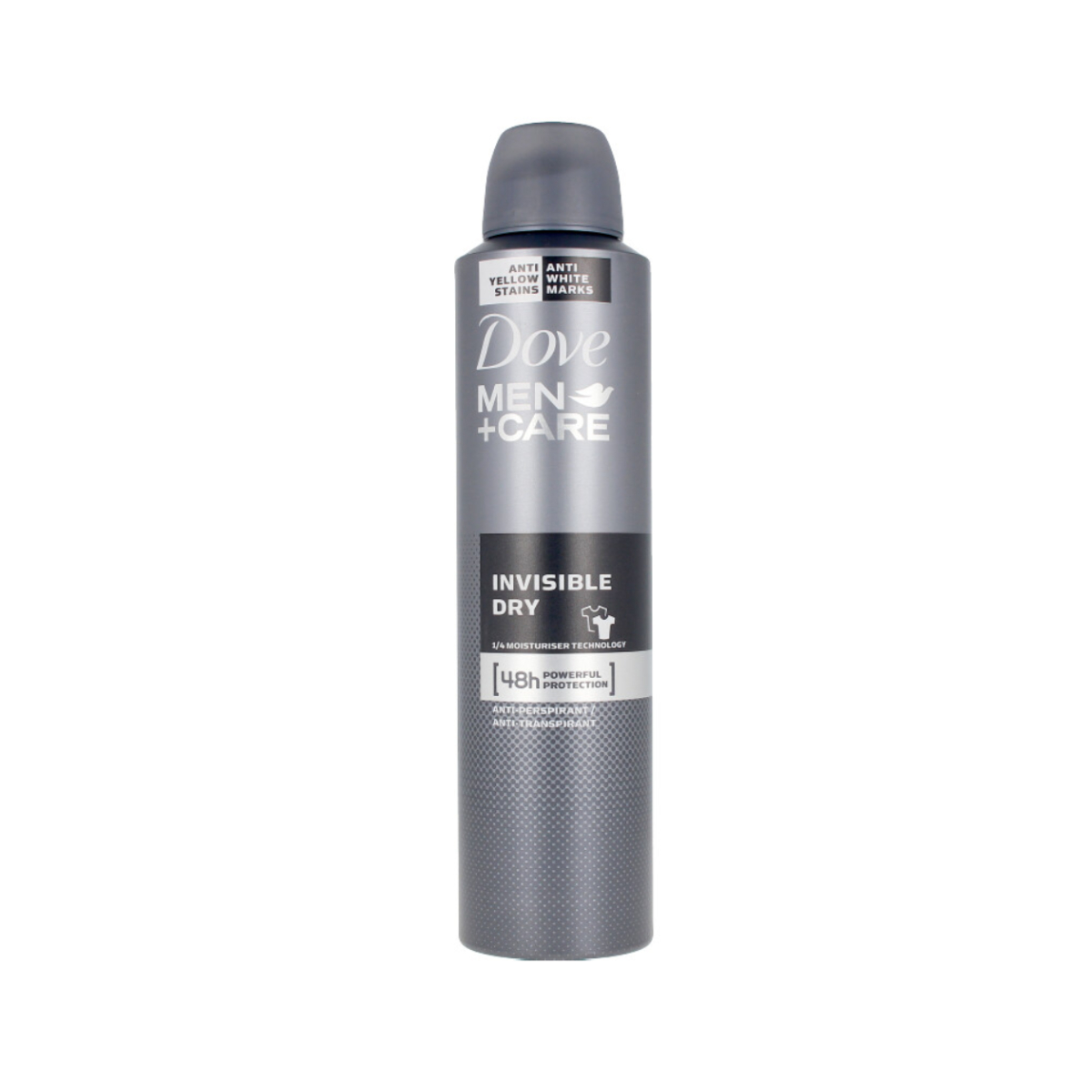 DESODORIZANTE SPRAY DOVE MEN INVISIBLE DRY 250ML