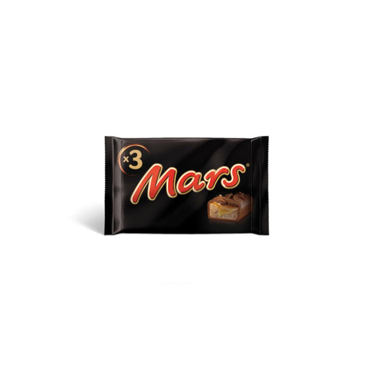 CHOCOLATE MARS 3X45GR