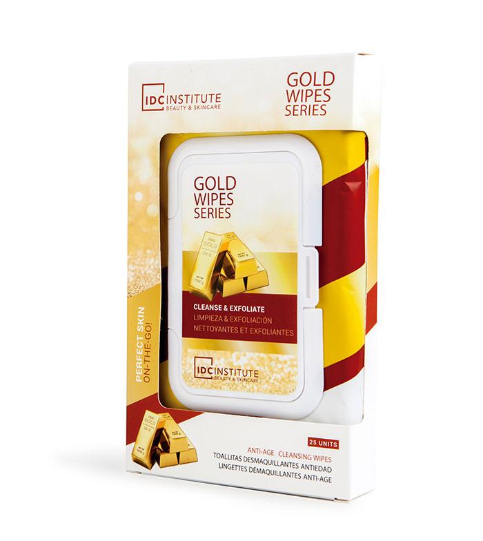 TOALHITAS DESMAQUILHANTES ANTI-IDADE GOLD
