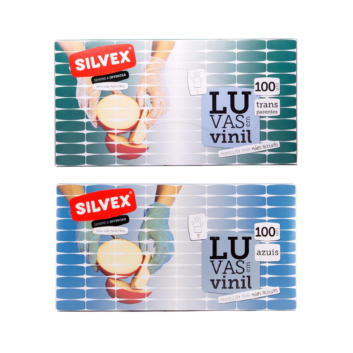 LUVAS EM VINIL - 100UN