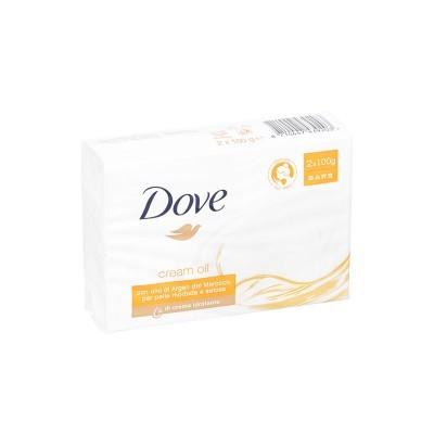DOVE SABONETE - PACK DE 2 X 100GRS