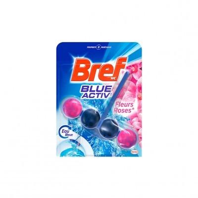 BREF BLUE ACTIV FLEURS ROSES 50GRS - HENKEL