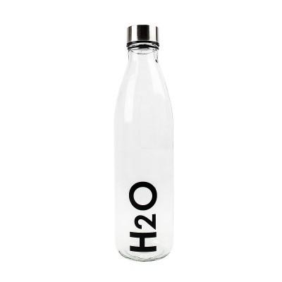GARRAFA DE VIDRO H2O