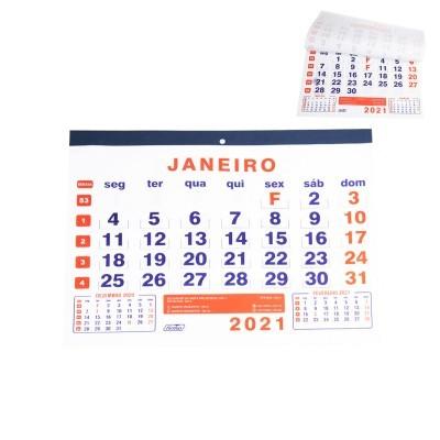 FOLHAS CALENDÁRIO FIRMO - 2021