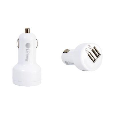 CARREGADOR DUPLO USB P/CARRO