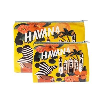 BOLSA C/PADRÃO HAVANA