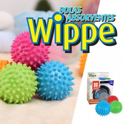 BOLAS ABSORVENTES WIPPE